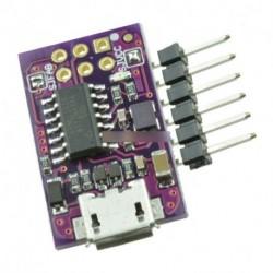 cd78667d41 5V Micro USB apró AVR ISP ATtiny44 USBTinyISP programozó Arduino Bootloader
