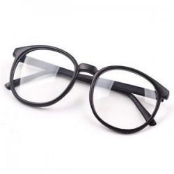 Divat világos kerek lencse szemüveg keret retro férfi nők unisex majom szemüveg