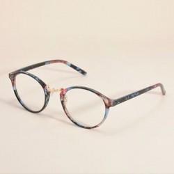 Vintage tiszta lencse szemüveg keret retro kerek férfi női unisex majom szemüveg