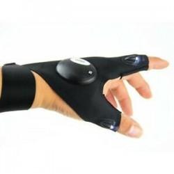 1 x LED-es ujjlenyomat-világító kesztyű Automatikus javítás a szabadban Villogó műtermék HOT