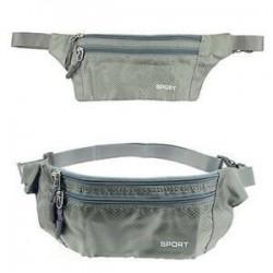 Vízálló sport futó öv bum derék tasak kemping túrázás zip fanny csomag táska
