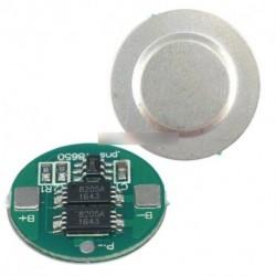 2db Dual MOS akkumulátor panel 18650 lítium akkumulátor