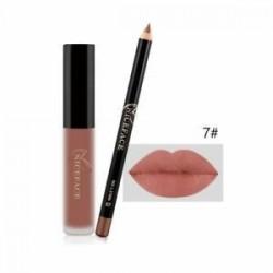 7 *. Smink vízálló hosszú élettartamú matt folyékony rúzs ajakrúzs kozmetikai készlet