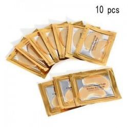 10 DB. Új 5/10 páros hidratáló bőrápoló gél kollagén EYE hidratáló arcmaszk