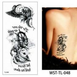 Vízálló ideiglenes Tetoválás nőies mintával - vízálló matrica - 48. verzió