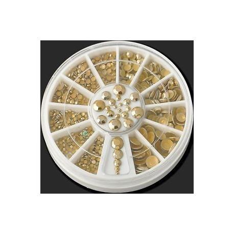 28 *. 3D AB körömlakk strasszok csillognak akril tippek dekoráció manikűr kerék DIY