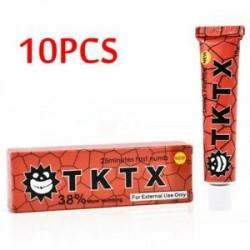 10db 10g-os Fájdalomcsillapító - Zsibbasztó - Érzéstelenítő krém tetováláshoz - 3-as típus