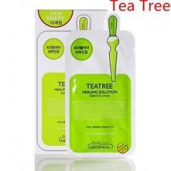 Tea fa. Koreai arcmaszk lap mély nedves arcmaszk csomag essence bőrápoló smink