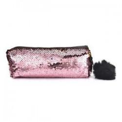* 18 Pink (22 * 5 * 8,5 cm). Forró ceruza tok Pen tok doboz doboz táskák iskolai irodaszerek papíráru ajándék