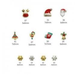* 1 11PCS. 28pcs karácsonyi 3D köröm Art matricák hópelyhek és aranyos hóember DIY köröm matricák