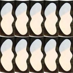 fehér. 10db orr fekete fej tisztító eltávolító orr tisztító póruscsíkok akne kezelés