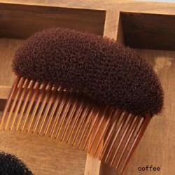 Kávé. Divat női haj Clip Stick Bun Maker Braid eszköz haj Styling kiegészítők Új