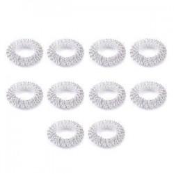 10db ezüst. Sok 10Pcs ujjmasszázs gyűrű Akupunktúra Egészségügyi test Akupresszúrás masszírozó