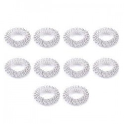 10db ezüst. 10db ujjmasszázs gyűrű akupunktúrás egészségügyi ellátás test akupresszúrás masszírozó Új