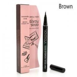 Barna 7 napos szemöldök tetováló ceruza toll Liner tartós szem smink kozmetikai