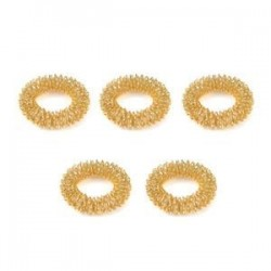 5db arany. 5 / 10Pcs ujjmasszázs gyűrű akupunktúrás egészségügyi ellátás akupresszúrás masszírozó
