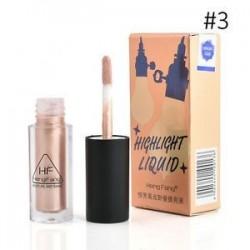* 3 Természetes. Smink kiemelő folyékony csillogó kontúr fényesítő pigment alapítványkészlet Új