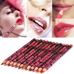 12 szín szépségápoló vízálló hidratáló ajakvászon ceruza toll kozmetikai