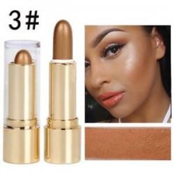 3 *. Smink csillogó kiemelés és kontúr pálca arc Body rejtegető porkrém szépség