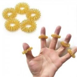 10db ujjmasszázs gyűrű akupunktúrás egészségügyi ellátás akupresszúrás masszírozó Hot