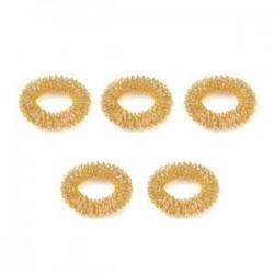 5db arany. 10db ujjmasszázs gyűrű akupunktúrás egészségügyi ellátás akupresszúrás masszírozó Hot