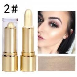 2 *. Ragyogó fényjelző és kontúrpálca smink arcbőr rejtegető krémpor szépség