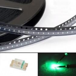 1000db 0603 zöld fény SMD SMT LED lámpa dióda kibocsátó Super Bright