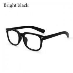 Fényes fekete. Anti-Blue Ray számítógépes szemüvegek Kék fény blokkoló szemüveg UV szemüvegek JP