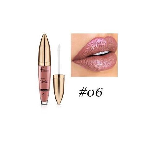 * 6. Vízálló hosszú élettartamú fém csillogó matt folyékony rúzs smink ajakfény