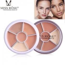 Miss Rose kontúr profi arc rejtegető krém paletta smink készlet szépség