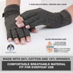 2 X Arthritis kesztyű Kézi támogatás fájdalomcsillapító arthritis Finger Compression