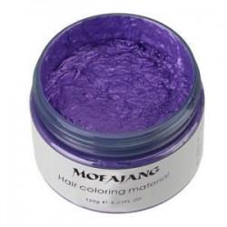 Lila. Unisex 4 színben hajfesték viasz sár festék krém ideiglenes DIY modellezés divat 1PC