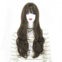 * 6 Fekete Barna. Forró természetes brazil szűz teljes csipke emberi haj paróka ragasztott teljes első paróka