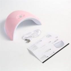 Rózsaszín. Hasznos 36W LED UV körömszárító gél lengyel lámpa száraz, száraz gyógyító manikűr gép