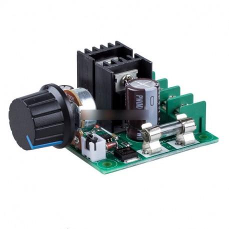 12V-os ~ 40V 10A PWM DC Motor fordulatszám vezérlő kapcsoló vezérlő voltos szabályozó Dimmer
