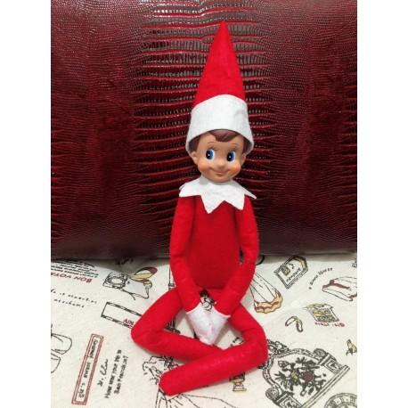 37 cm Elf on the self karácsonyi manó Karácsony tél ünnep gyerek játék
