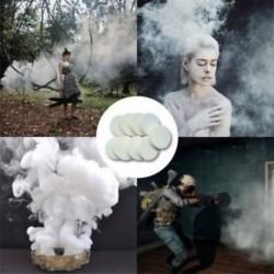2db fehér füst torta bomba kerek hatás megjelenítése mágikus fényképezés színpadi támogatás játék