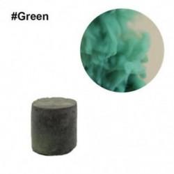 Zöld - Színes füst torta bomba kerek hatás megjelenítése mágikus fotózás színpadi támogatás játék eszköz