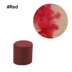 Piros - 1db színes füst torta bomba kerek hatás megjelenítése mágikus fényképezés színpadi támogatás játék