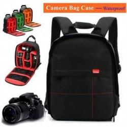 Vízálló DSLR fényképezőgép tok hátizsák válltáska Canon / Sony / Nikon új