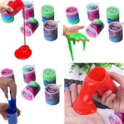 Slime színes vicces dobok gag párt kedvét tréfa játékok gyerekek ajándék trükk hordó O