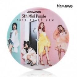 Mamamoo - Mamamoo Kpop tizenhét mellkas Pin Astro Blackpink EXO MAMAMOO Monsta x Kétszer jelvény bross