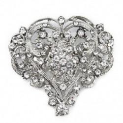 * 9 hatalmas szív (5,5x5,8 cm) - * 9 hatalmas szív (5,5x5,8 cm) Retro női zománc piros mák virág bross Pin Broach