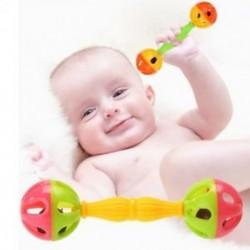 Új baba játék csörgők Bell rázza Dumbells korai intelligencia fejlesztés játékok