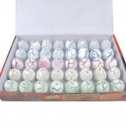 1db méret S: 3 * 4cm - 1db méret S: 3 * 4cm Magic Dinosaur Eggs for Kids Oktatási Vicces Add hozzá a víz növekvő