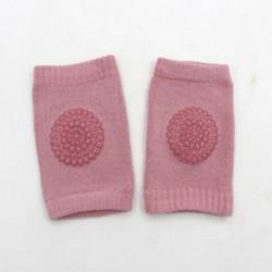Rózsaszín - Rózsaszín Gyerekek Lágy csúszásgátló könyökpárna Csúszó térdvédő csecsemő kisgyermek baba