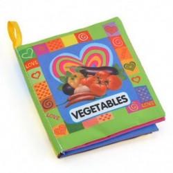 Zöldségek - Zöldségek Puha kendő Baby Gyerek Gyermek Intelligencia Fejlesztés Ismerje meg a kép megismerését