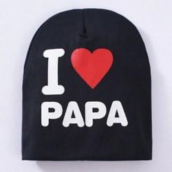 Fekete &amp  PAPA - Fekete &amp  PAPA Szép kisgyermek gyerekek kisfiú lány csecsemő pamut puha téli meleg sapka sapka