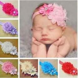 7db édes gyerek baba lány virág fejpánt kisgyermek haj íj zenekar tartozékok készlet