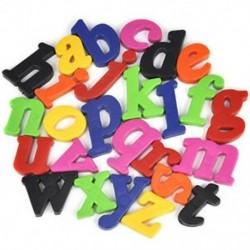 52 Mágneses betűk Alsó / felső tok ábécé Gyermek gyerekek játék Hűtőszekrény játék
